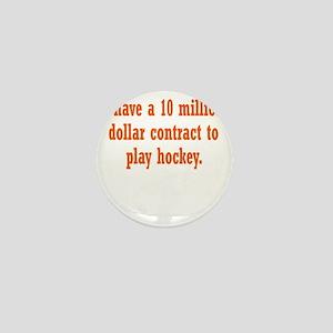 hockey-contract3 Mini Button