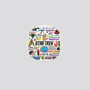 Trekkie Memories Mini Button