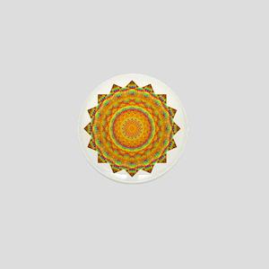 Rainbow Heart Yoga Mandala Shirt Mini Button