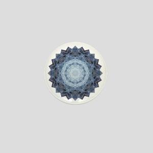 Blue Star Kachina Yoga Mandala Shirt Mini Button