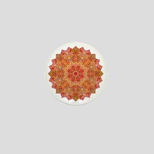 Earth Mandala Yoga Shirt Mini Button