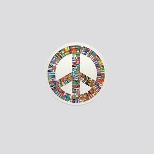 Peace to All Nations Mini Button