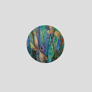 DRAGONFLIES Mini Button
