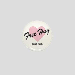 Free Hug Mini Button
