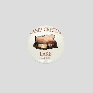 Camp Crystal Lake Counselor Mini Button
