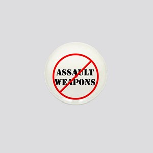 No assault weapons, gun control Mini Button
