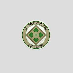 4th Infantry post Mini Button