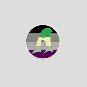 Aromantic Asexual #2 Mini Button