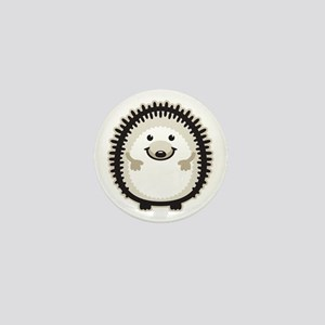 Hedgehog Mini Button