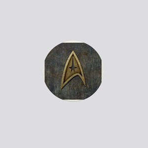 Star Trek Insignia Grunge Mini Button
