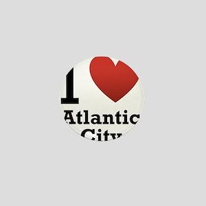 I-Love-Atlantic-City Mini Button