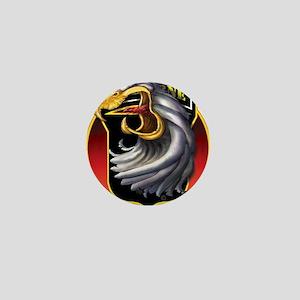 Screamin' Eagles Badge Mini Button