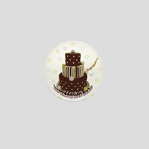 Let Them Eat Cake (no milk) Mini Button
