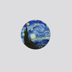 Van Gogh Mini Button