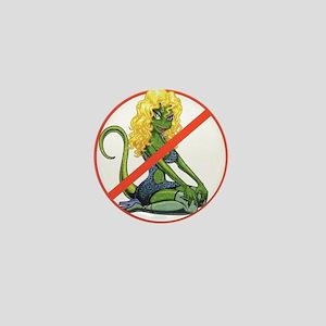 No Lot Lizards Mini Button