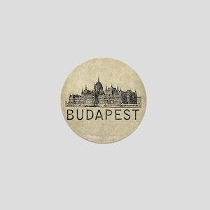 Vintage Budapest Mini Button