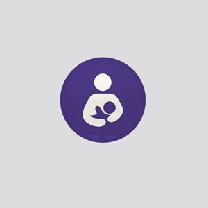Breastfeeding Symbol Mini Button