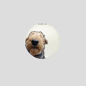 Airedale Terrier Friends Mini Button