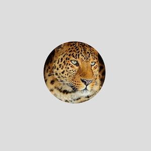 Leopard Portrait Mini Button