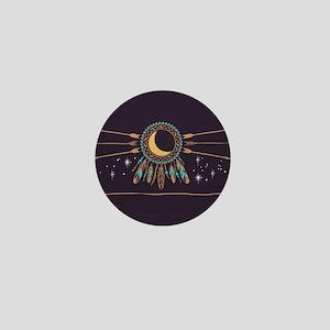 Dreamcatcher Moon Mini Button