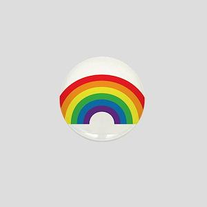 Gay Rainbow Mini Button