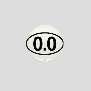0.0 Zero Marathon Runner Mini Button