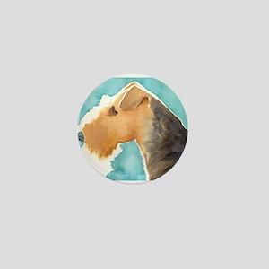 Airedale Terrier Mini Button