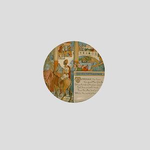 The Man That Please None - Aesop 1887 Mini Button