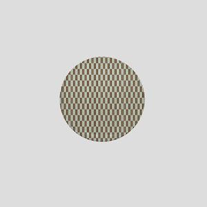 Abstract Arrow Tile Pattern Mini Button
