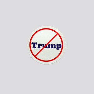 Anti Trump, Dump Drumpf, no Trump Mini Button