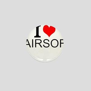 I Love Airsoft Mini Button