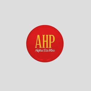 Alpha Eta Rho Letters Mini Button