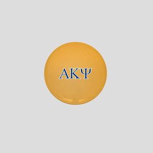 Alpha Kappa Psi Letters Mini Button