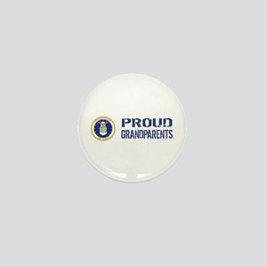USAF: Proud Grandparents Mini Button
