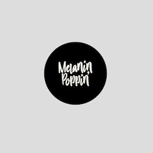 Melanin Poppin Mini Button