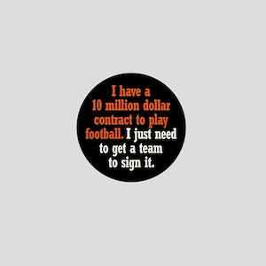 Football Contract Mini Button