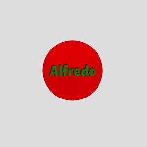 Alfredo Red and Green Mini Button