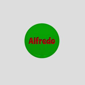 Alfredo Green and Red Mini Button