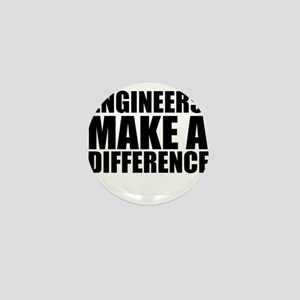 Engineers Make A Difference Mini Button