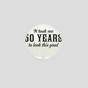50th Birthday Mini Button