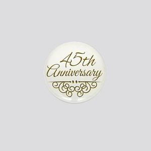 45th Anniversary Mini Button