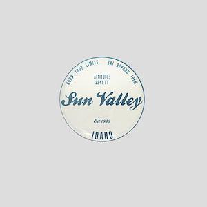 Sun Valley Ski Resort Idaho Mini Button