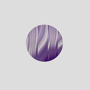 abstract purple grey Mini Button