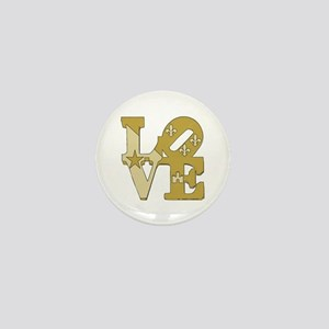 love gold Mini Button