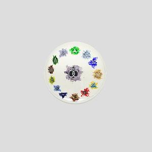 The 13 Clan Coalition Mini Button