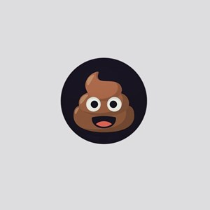 Poop Emoji Mini Button