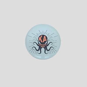 Kappa Alpha Order Octopus Mini Button