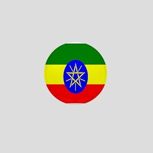 Flag of Ethiopia Mini Button