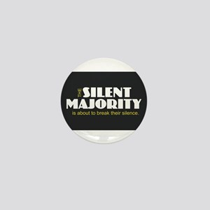 Silent Majority Mini Button