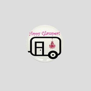 Happy Glamper! Mini Button